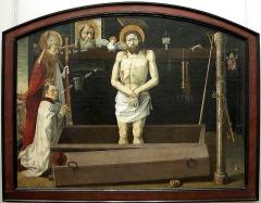 Chapelle de Saint-Marcellin -  The Boulbon Altarpiece c. 1460 Wood transferred to convas, 172 x 228 cm Musйe du Louvre, Paris