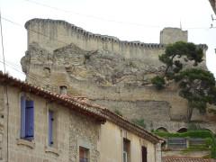 Château (ruines) - English: Boulbon (Bouches-du-Rhône, Fr) fortress