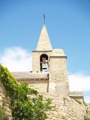 Eglise Saint-Sauveur - English:   Church Saint Sauveur from Fos sur Mer (France)