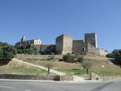 Eglise Saint-Sauveur - Français:   Vue générale du site de Fos le Vieux