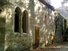 Abbaye de Saint-Pons - Français:   Cette Abbaye est située au Parc de Saint Pons