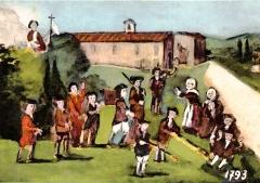 Chapelle Saint-Jean de Garguier - Saint-Jean-de-Garguier Ex-voto 1793