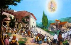 Chapelle Saint-Jean de Garguier - Ex-voto procession