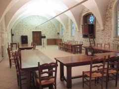 Abbaye Saint-Michel de Frigolet - English: Refectory of Abbaye Saint-Michel-de-Frigolet