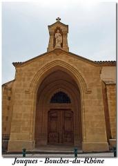 Eglise paroissiale Saint-Pierre - Dansk: vue du parvis