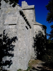 Chapelle Sainte-Anne-de-Goiron (également sur commune de La-Roque-d'Anthéron) -  Bouches-Du-Rhone Chapelle Sainte-Anne-De-Goiron Chevet 20102011