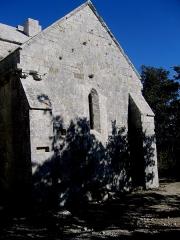Chapelle Sainte-Anne-de-Goiron (également sur commune de La-Roque-d'Anthéron) -  Bouches-Du-Rhone Chapelle Sainte-Anne-De-Goiron Cote Sud 20102011