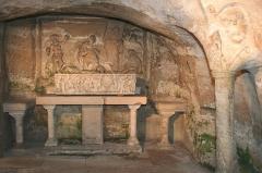 Abbaye Saint-Victor -  Chapelle Saint Lazare dans les cryptes de l'abbaye de Saint Victor.