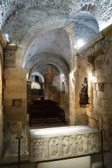 Abbaye Saint-Victor - English: Crypt of Saint-Victor