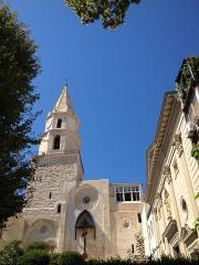 Clocher des Accoules au vieux port -  clocher de l'église du 13ème siècle détruite en 1794 Classée monument historique