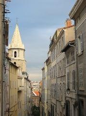 Clocher des Accoules au vieux port -  Le panier.Marseille