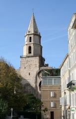 Clocher des Accoules au vieux port -  Clocher de l'ancienne église des Accoules à Marseille