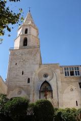 Clocher des Accoules au vieux port - English: Church Notre-Dame-des-Accoules, Marseille (Bouches-du-Rhône, France)