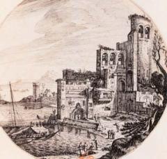 Eglise de la vieille Major (ancienne cathédrale) -  Silvestre, Israël (1621-1691). La Major de Marseille