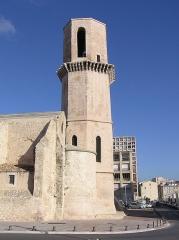 Eglise et baptistère Saint-Laurent - English: Image of Eglise Saint Laurent in Marseille.
