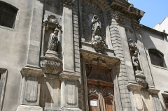 Eglise Saint-Théodore ou église de l'ancien couvent des Récollets - Français:   église Saint-Théodore à Marseille, 3 rue des Dominicaines.