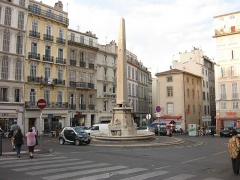 Fontaine Fossati -  Obelisk