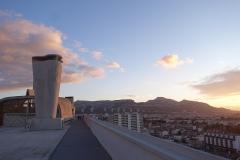 Unité d'habitation Le Corbusier dite Cité Radieuse - English: Roof of Cité radieuse, Marseille