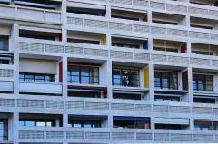 Unité d'habitation Le Corbusier dite Cité Radieuse - English: Unitè d'habitation in Marseille