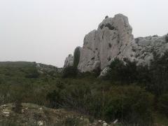 Oppidum des Caisses - English:   Archaeological site of Caisses de Jean-Jean in Mouriès