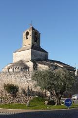 Eglise paroissiale Saint-Baudile - Français:   Eglise Sainte Baudile Noves.