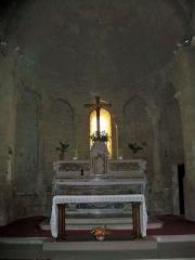 Eglise paroissiale Saint-Baudile - Français:   nef de l\'église de Noves (13)
