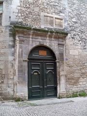 Hôtel de Lagoy (ou maison Renaissance) , attenant au musée - Français:   Porte de l\'hotel de Lagoy, St Rémy de Provence (13), Frane