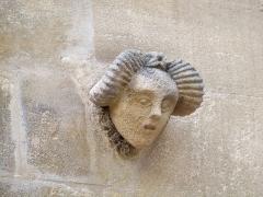 Maison du Planet ou Hôtel Mistral-Mondragon - Français:   Détail de la facade del\'hotel Mondragon Saint Rémy de Provence, Bouches du Rhone, France