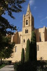 Eglise Saint-Laurent - English: The collegiate church Saint-Laurent in Salon-de-Provence (Bouches-du-Rhône, France)
