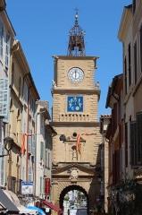 Tour de l'Horloge - Français:   Porte de l\'Horloge de Salon-de-Provence