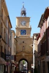 Tour de l'Horloge - Français:   Porte de l\'Horloge à Salon-de-Provence.