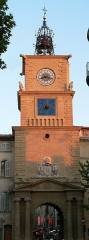 Tour de l'Horloge - Français:   La Tour de l\'Horloge à Salon-de-Provence (Bouches-du-Rhône, France)