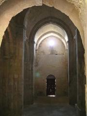 Chapelle et Tour Saint-Gabriel - Français:   Chapelle Saint-Gabriel - Nef
