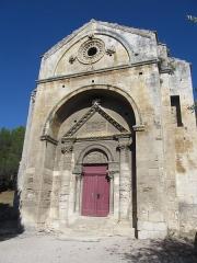 Chapelle et Tour Saint-Gabriel - Čeština:   Kaple sv. Gabriela - průčelí