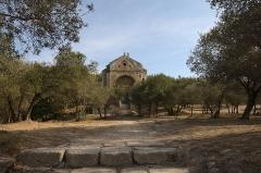Chapelle et Tour Saint-Gabriel - English:   The Chapelle Saint-Gabriel de Tarascon chapel in France.
