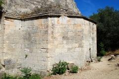 Chapelle et Tour Saint-Gabriel - France - Provence - Chapelle Saint-Gabriel de Tarascon - Le chevet