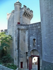 Château du Roi René - This building is classé au titre des Monuments Historiques. It is indexed in the Base Mérimée, a database of architectural heritage maintained by the French Ministry of Culture,under the reference PA00081473 .