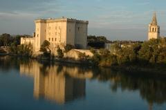 Eglise Sainte-Marthe -  Château de Tarascon coté Rhône