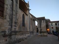 Eglise Sainte-Marthe - English: Collégiale Sainte-Marthe de Tarascon