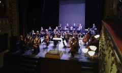 Théâtre municipal - English: Orchestre régional Avignon-Provence playing at Théâtre de Tarascon