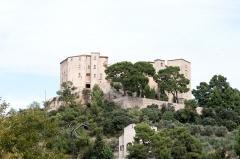Château - English:   The castle of Meyrargues, Bouches-du-Rhône (France).