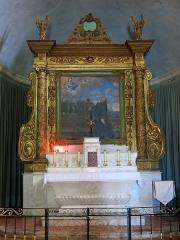 Chapelle Saint-François-de-Paule - English: Altar of the chapel Saint-François-de-Paule in Bormes-les-Mimosas (Var, France).