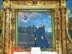 Chapelle Saint-François-de-Paule - English: Altarpiece of the chapel Saint-François-de-Paule in Bormes-les-Mimosas (Var, France).