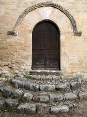 Chapelle Notre-Dame - English: Brue-Auriac - Var - France - Chapelle Notre-Dame (entrance)