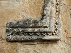Chapelle Notre-Dame - English: Brue-Auriac - Var - France - Chapelle Notre-Dame (detail entrance)