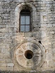 Chapelle Notre-Dame - English: Brue-Auriac - Var - France - Chapelle Notre-Dame (Frontside detail)