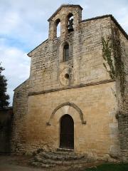 Chapelle Notre-Dame - English: Brue-Auriac - Var - France - Chapelle Notre-Dame (frontside)