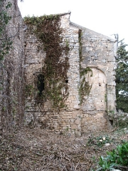Chapelle Notre-Dame - English: Brue-Auriac - Var - France - Chapelle Notre-Dame (chevet on the priory side)
