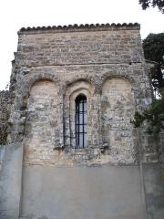 Chapelle Notre-Dame - English: Brue-Auriac - Var - France - Chapelle Notre-Dame (chevet)
