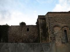 Chapelle Notre-Dame - English: Brue-Auriac - Var - France - Chapelle Notre-Dame (backside on the priory side)